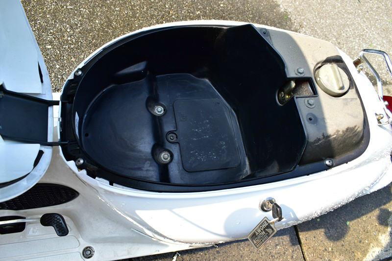 原付ミニバイクの洗車